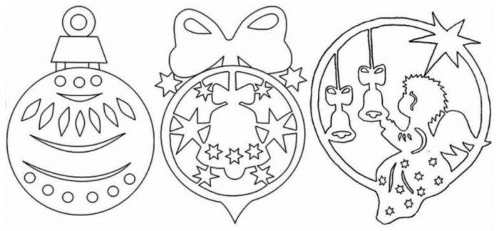 Новогодние вытынанки 2021: главные герои праздника, материалы и работа