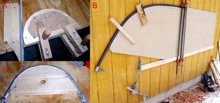 Как сделать трубогиб своими руками: несколько оригинальных решений