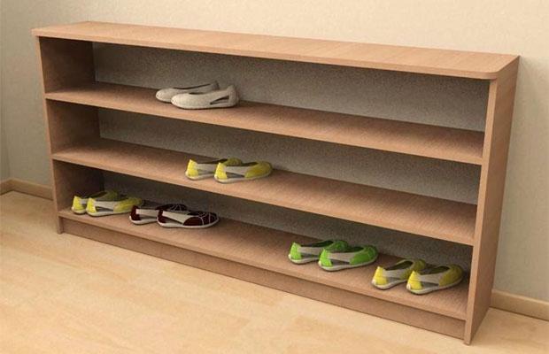 Как сделать полку для обуви: разные варианты изготовления «обувного рая»