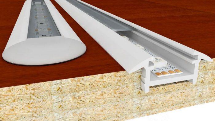 Как сделать подсветку на кухне под шкафчиками: виды приборов и работа