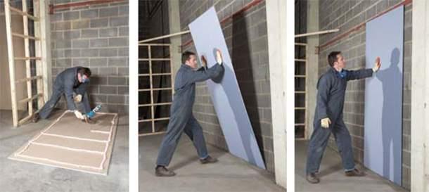 Выравнивание стен своими руками: 4 варианта решения «кривой задачи»