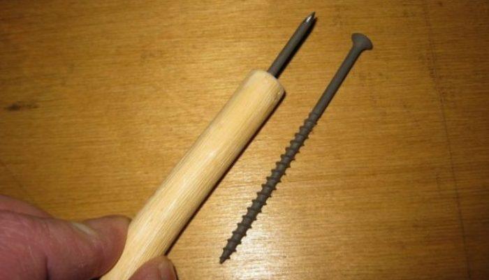 Как сделать шило: возможные материалы и способы изготовления инструмента