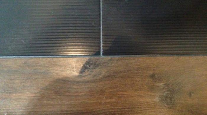 Как можно закрыть стык между плиткой и ламинатом: оптимальные варианты