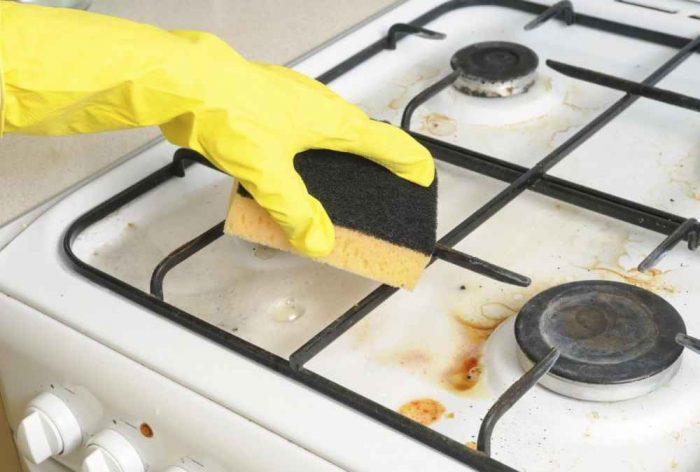 Как очистить газовую плиту от жира: эффективные методы борьбы