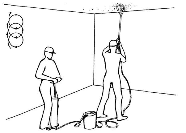 Покраска стен краскопультом: технология, материалы, особенности и этапы работы