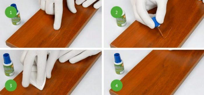 Как убрать царапины на мебели: быстро и просто