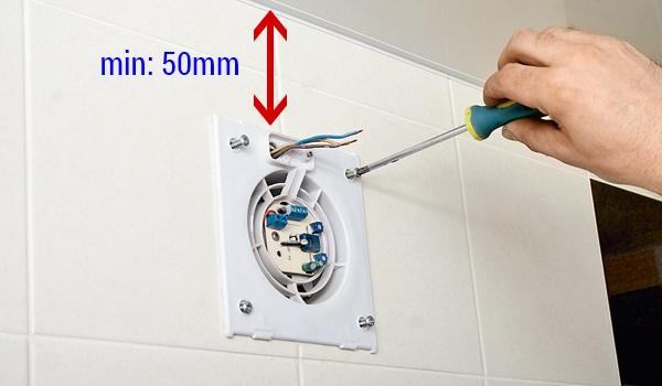 Вытяжной вентилятор для ванной комнаты: выбор модели, ее установка