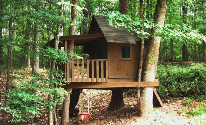 Как сделать дом на дереве: виды «зданий», рекомендации, этапы строительства