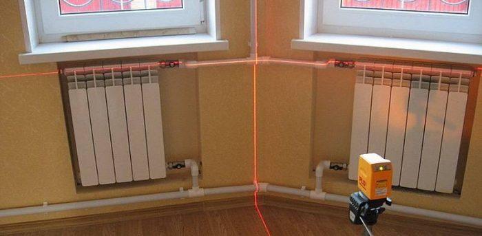 Как подключить батарею отопления: обзор возможных схем и способов