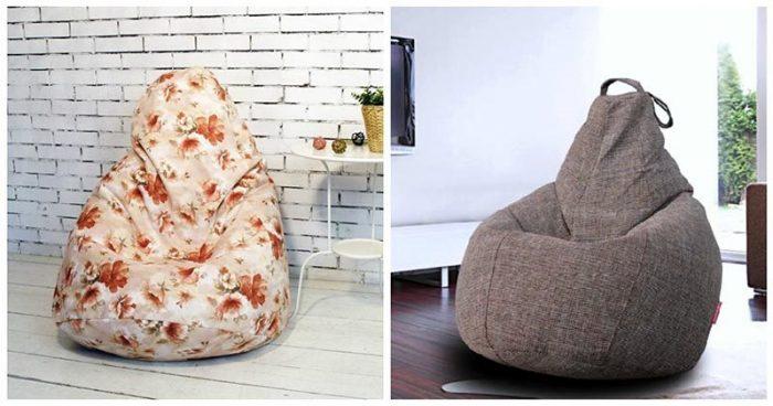 Как сшить кресло мешок: особенности «бесхребетной» мебели и инструкция