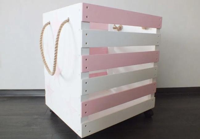 Как сделать ящик для игрушек: несколько вариантов «хранилищ сокровищ»