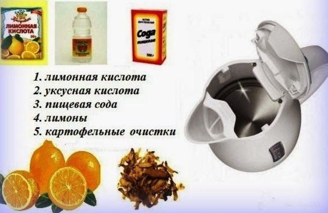 Как почистить электрический чайник: народные методы и бытовая химия