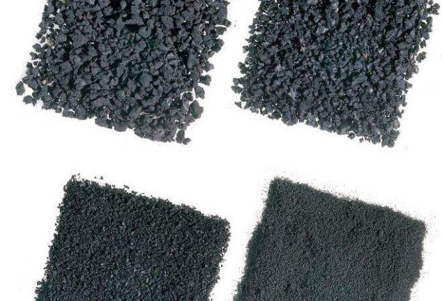 Укладка резиновой крошки, плит, рулонов: компоненты и особенности технологии