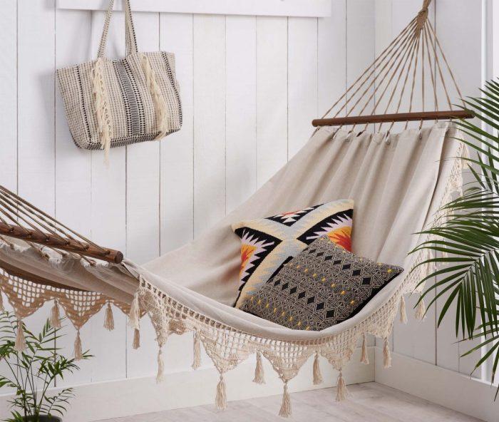 Как сделать гамак: способы самостоятельного изготовления «подвесной мебели»