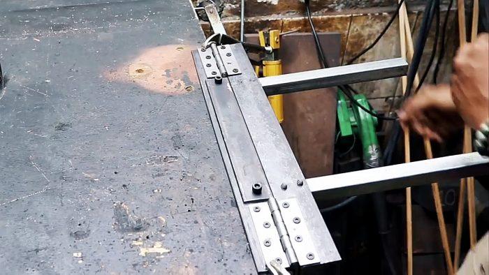 Как сделать листогиб: виды оборудования и несколько вариантов сборки