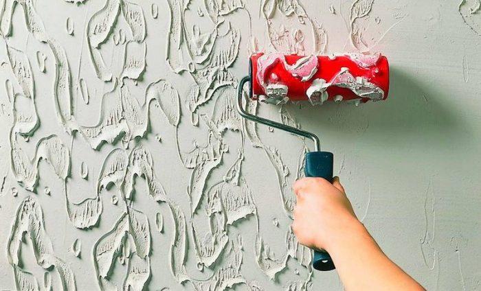 Как красить стены валиком: результат работы без полос, разводов и «прорех»