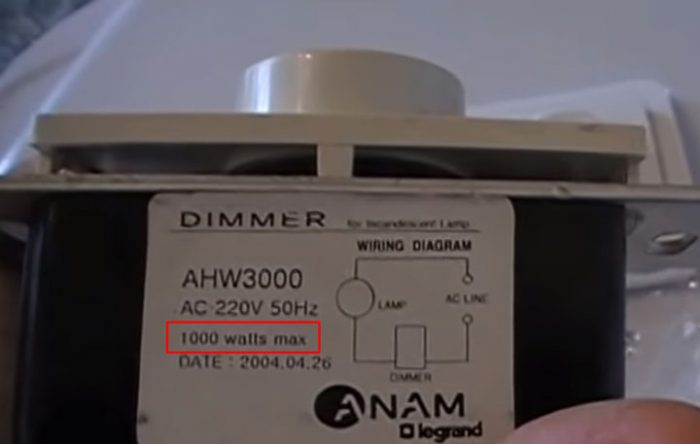Как подключить диммер: разновидности приборов и возможные схемы