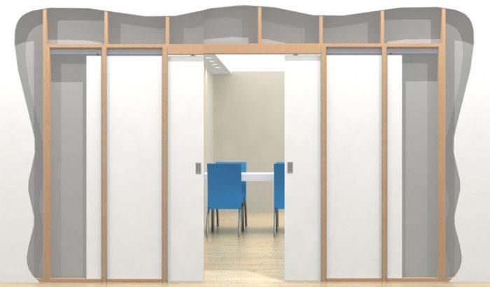 Как установить раздвижную дверь: подготовка к работе и этапы монтажа