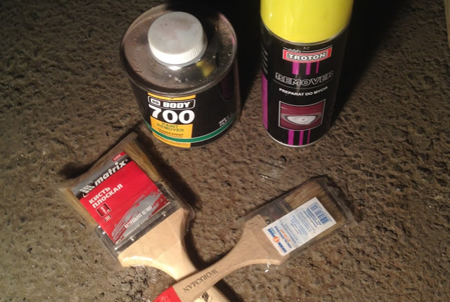 Как снять краску с дерева: 3 возможных метода и важные правила работы