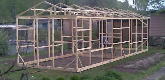 Как сделать зимнюю теплицу: спасительный «дом» и его строительство